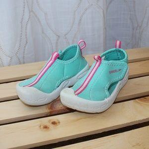 SPEEDO Size 7 / 8 Toddler Girls Water Shoes Aqua